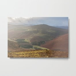Wicklow Mountains National Park Metal Print