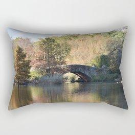 New York City Central Park Rectangular Pillow