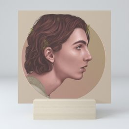 LEAF ME BREATHLESS Mini Art Print