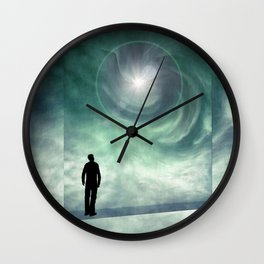 And May Your Journey Be Filled With Wonder Wall Clock