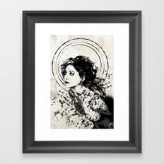 Little Whispers Framed Art Print