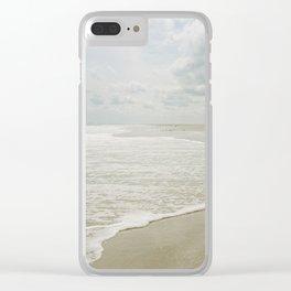 Long Beach Island, New Jersey Clear iPhone Case