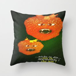 Not in the jam. Throw Pillow
