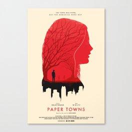 Memories - Paper Towns  Canvas Print
