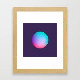 Gradient Study 02 Framed Art Print