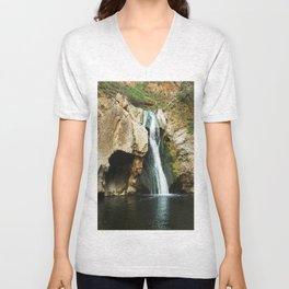 Paradise Falls Unisex V-Neck