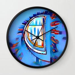 Eye of the Needle Wall Clock