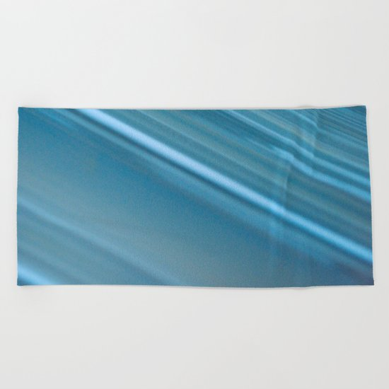 LINES OF BLUE #1 #decor #art #society6 Beach Towel