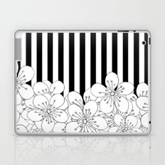 Cherry Blossom Stripes - In Memory of Mackenzie Laptop & iPad Skin