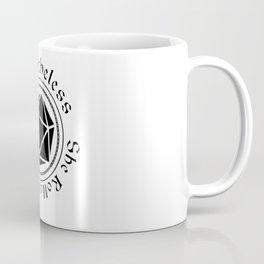 She Rolled the Die Coffee Mug