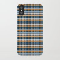 plaid iPhone & iPod Cases featuring Plaid by Livia Rett