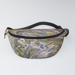 Topographical 3 Fanny Pack