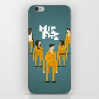 misfits iPhone & iPod Skins featuring Pixel Art Misfits by LoweakGraph