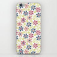 matisse iPhone & iPod Skins featuring Matisse Floral by Rosie Simons
