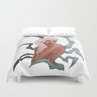 spider Duvet Covers featuring Spider by daimontribe