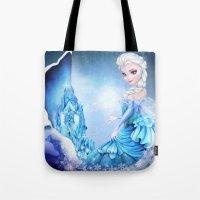 elsa Tote Bags featuring ELSA by Annya Kai