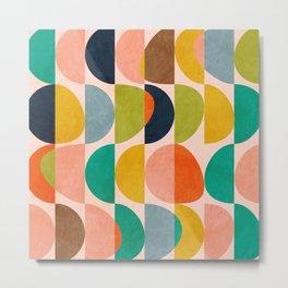 shapes abstract II Metal Print