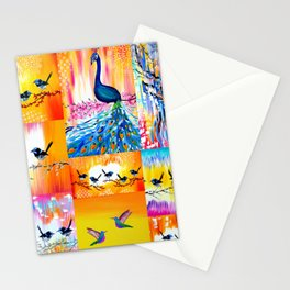 Yellow designs Stationery Cards