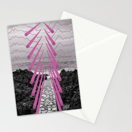 Surreal Beachscape Stationery Cards