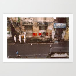 Indian Alley Art Print