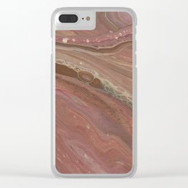 Sand Caves 1 Clear iPhone Case