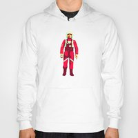 pilot Hoodies featuring pilot by Brian Draws Movies