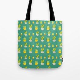 Greeny Cactus Tote Bag