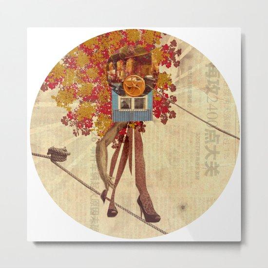 Build a Woman - Copy and Paste · Sputnik Monroe Metal Print