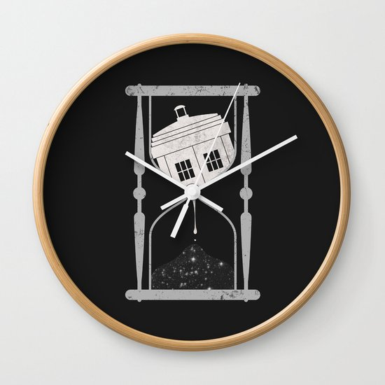Spacetime Wall Clock