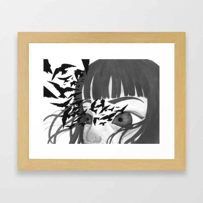 Kaleidoscope Eyes Framed Art Print