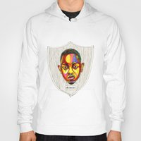 "kendrick lamar Hoodies featuring Kendrick Lamar Artwork - ""Rigamortis"" by Rob Gibsun"