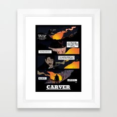 CARVER: Fire Walk With Me Framed Art Print