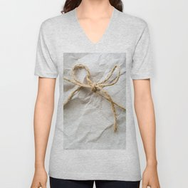 Wrapped Unisex V-Neck