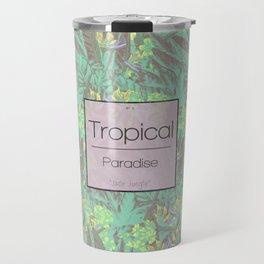 Tropical Paradise: Jade Jungle Travel Mug