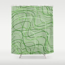 Nature lines Shower Curtain