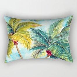 Palm Tree Allover Rectangular Pillow