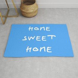 Home sweet home 1 blue Rug