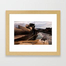 Bilbo afternoon Framed Art Print