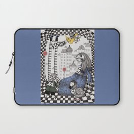 William the Conqueror and the 9 Feet Tall Caucus Race Laptop Sleeve