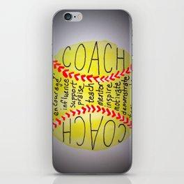 Coach iPhone Skin