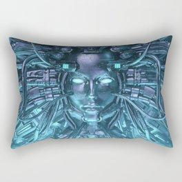 Mind of the Machine Rectangular Pillow