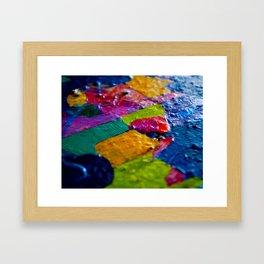 One Evenly One Framed Art Print