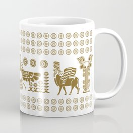 The Apadana or Audience Hall of Persepolis Design Coffee Mug