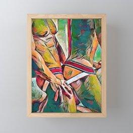 Jocks Framed Mini Art Print