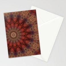 Christmas Night Mandala Stationery Cards