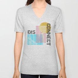 Disconnect Unisex V-Neck