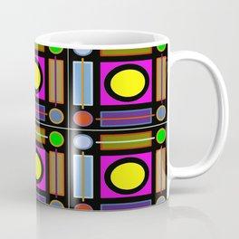 Art Deco Grid Coffee Mug