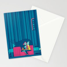 Diner Stationery Cards