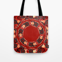 The Red and Golden Sections Tote Bag