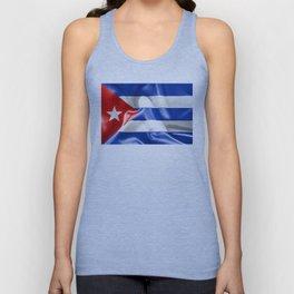 Cuba Flag Unisex Tank Top